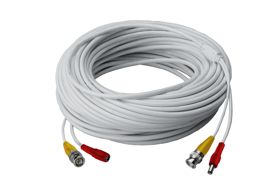 120FT high performance BNC Video/Power Cable for Lorex security ...