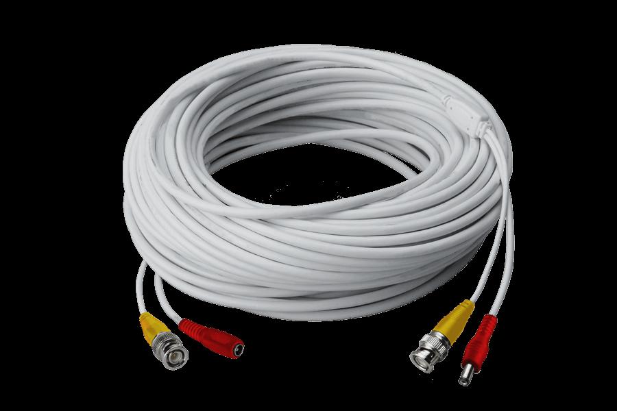 high performance camera cable CB60URB_CB120URB_CB250URB L1 120ft high performance bnc video power cable for lorex security