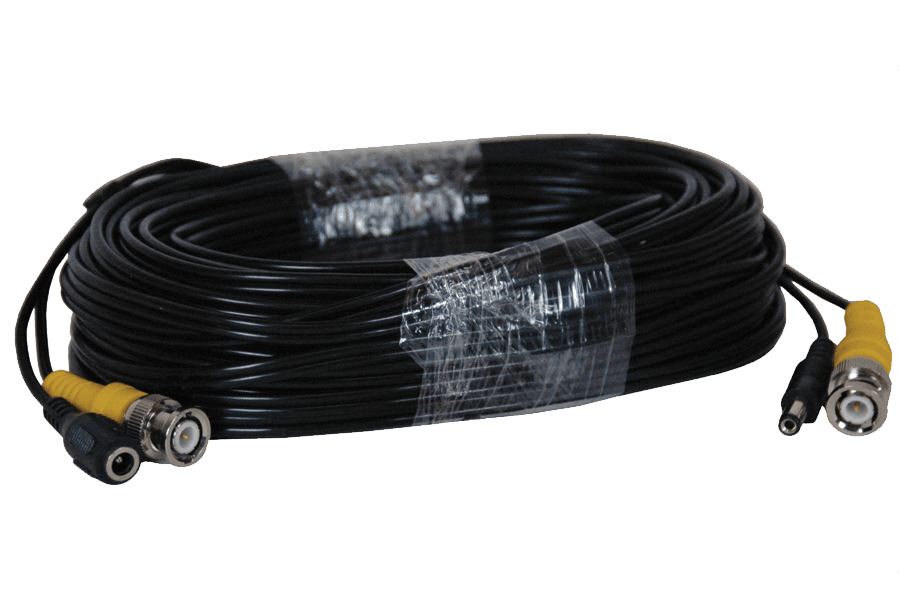 60FT BNC security video / power cable