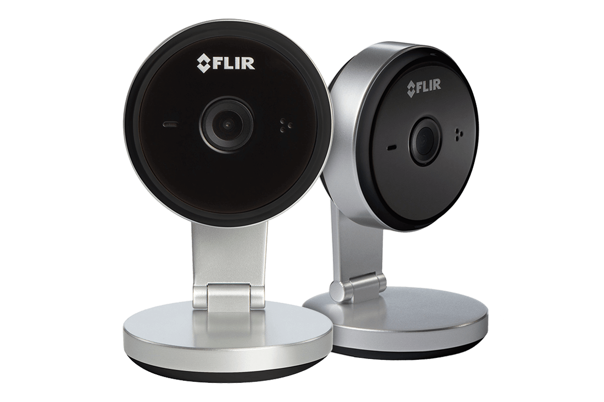 2 WiFi Home Security Cameras with 2K Super HD Resolution