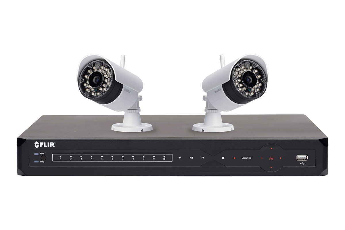 Wire Free Security Camera System With Dvr - WIRE Center •