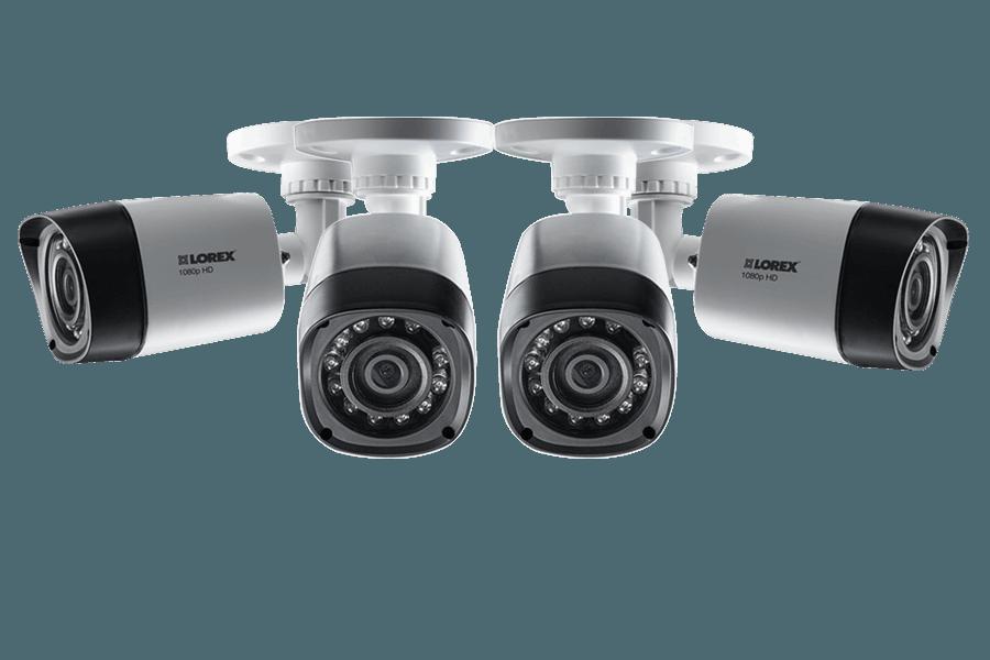 LOREX LBV2521-C 1080P HD Weatherproof Night Vision Security Cameras