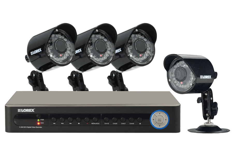 security cameras and dvr system eco 4 channel series lorex rh lorextechnology com 4CH DVR H 264 Manual Eyedea H.264 DVR