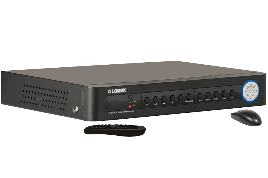 8 Channel Eco Digital Video Surveillance Recorder   Lorex