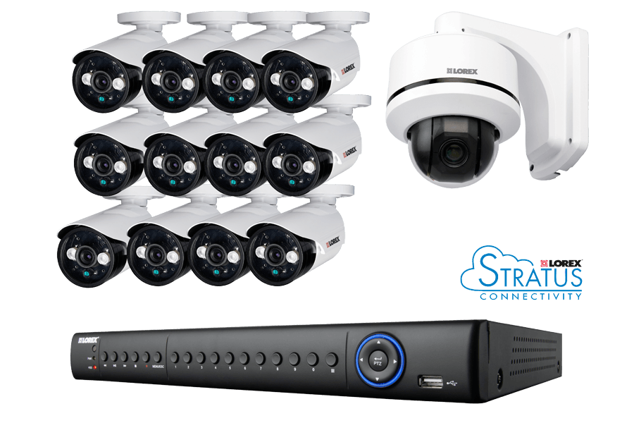 ECO4 16 Channel Series security DVR with 960H cameras | Lorex