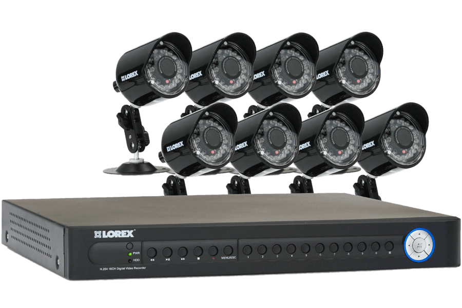 16 channel security dvr system eco series lorex rh lorextechnology com Lorex ECO 8 Box Lorex ECO Black Box 3