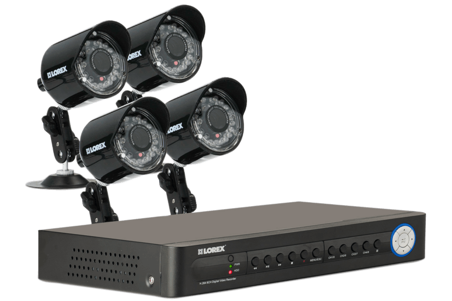 security cameras with dvr system eco 8 channel series lorex rh lorextechnology com lorex lh110 eco series software download Lorex ECO Black Box 3