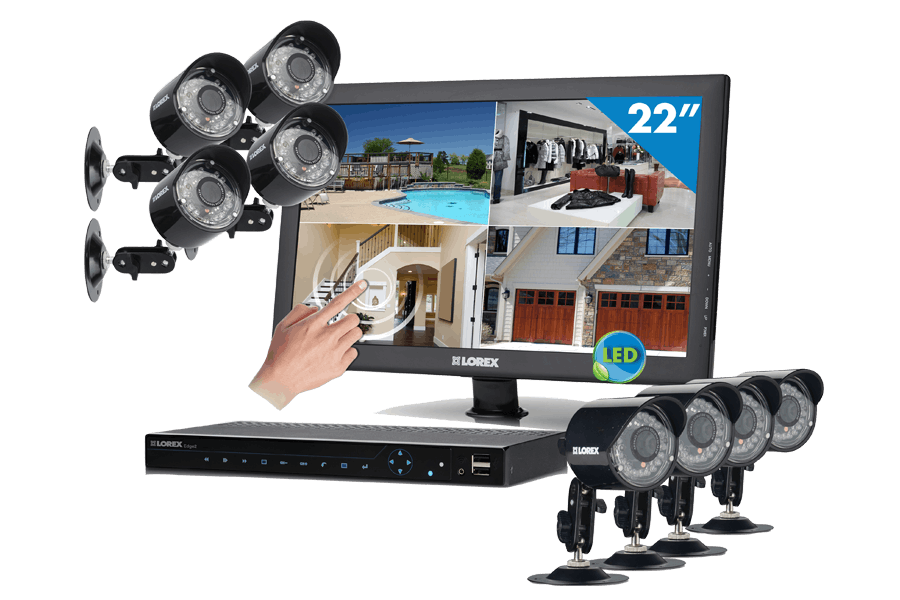 Outdoor Security Cameras Systems