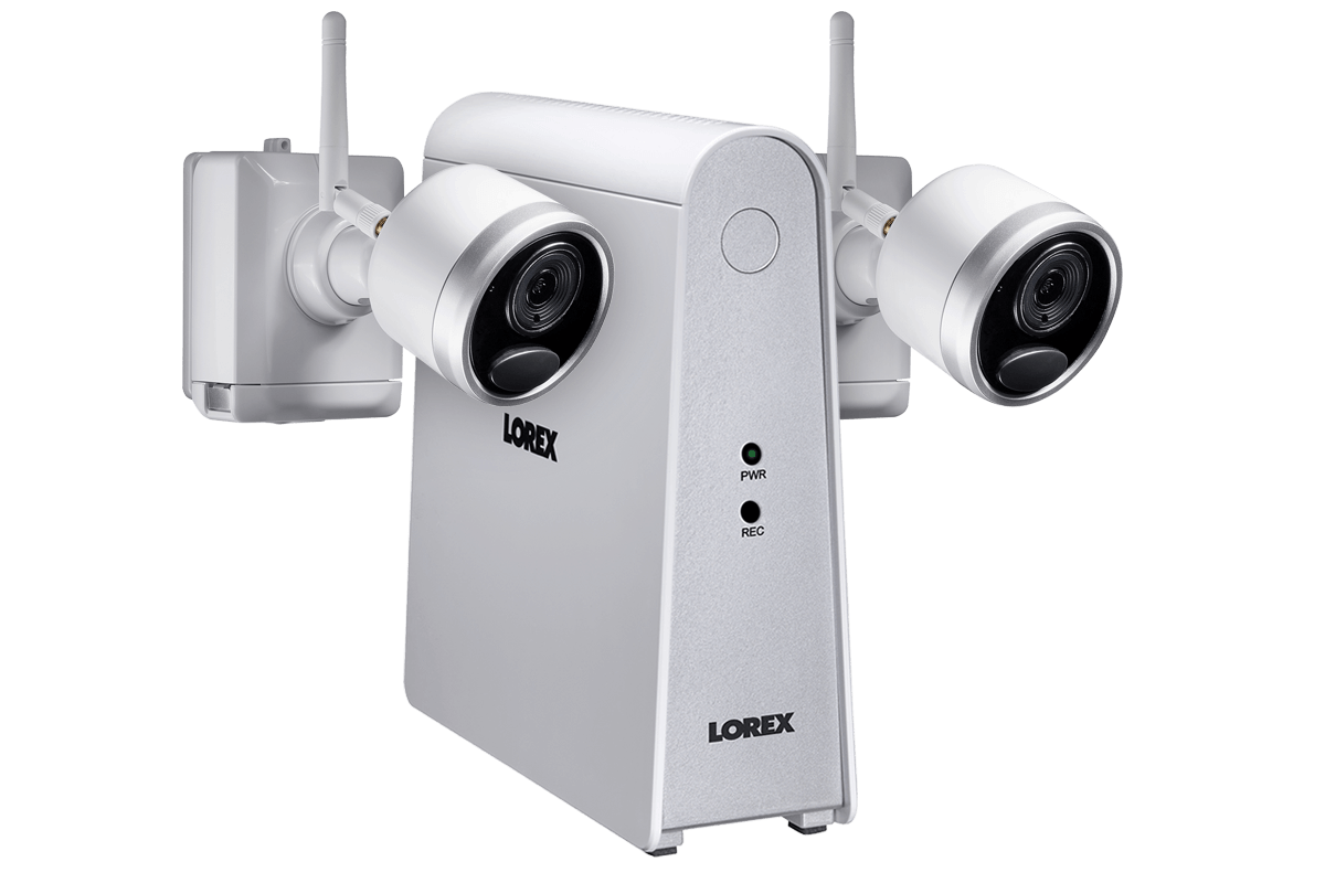 LHWF16233F L1 wire free security camera system with 2 cameras lorex