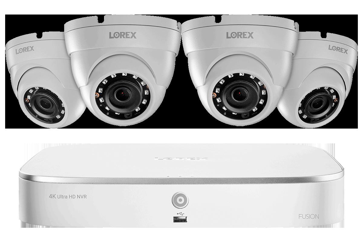 Lorex LNE8964AB 8 Megapixels IP Security Camera
