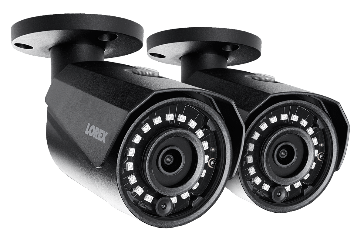 LNE 4421 Series Lorex 4MP 2k HD IR Bullet IP Camera