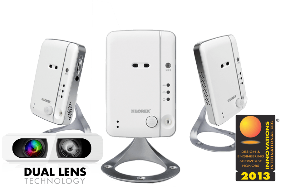 LIVE Ping Wireless Network Camera 3 Pack