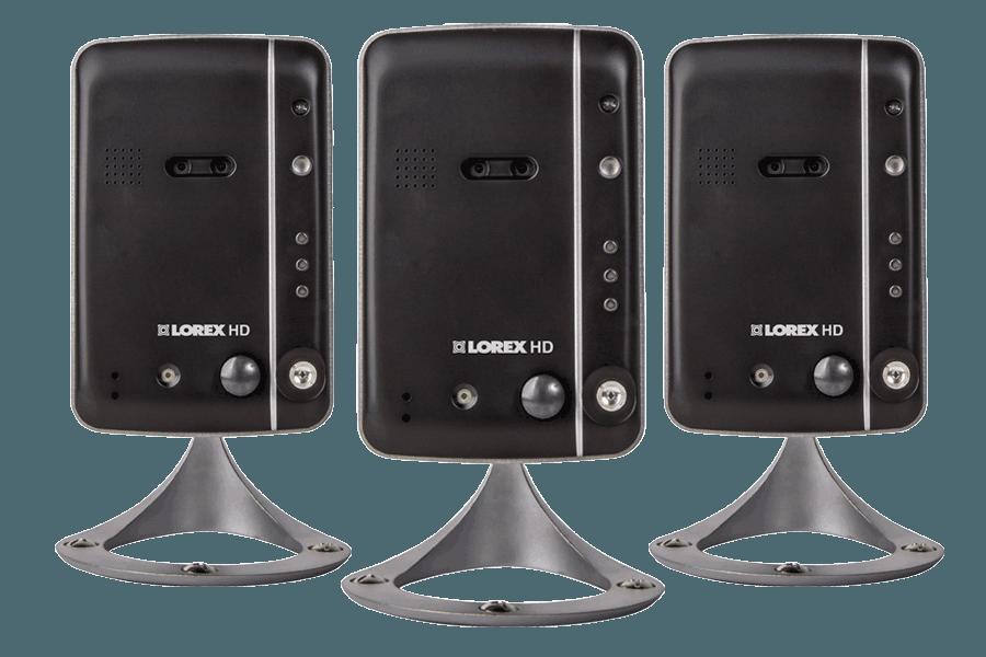Wireless high definition IP cameras (3-pack) | Lorex