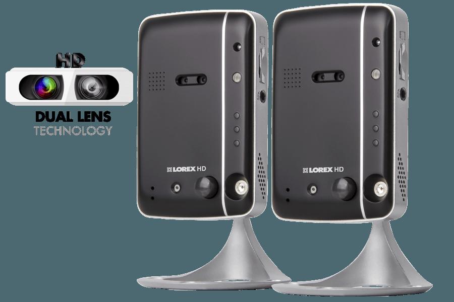 Wireless high definition IP camera (2-pack) | Lorex