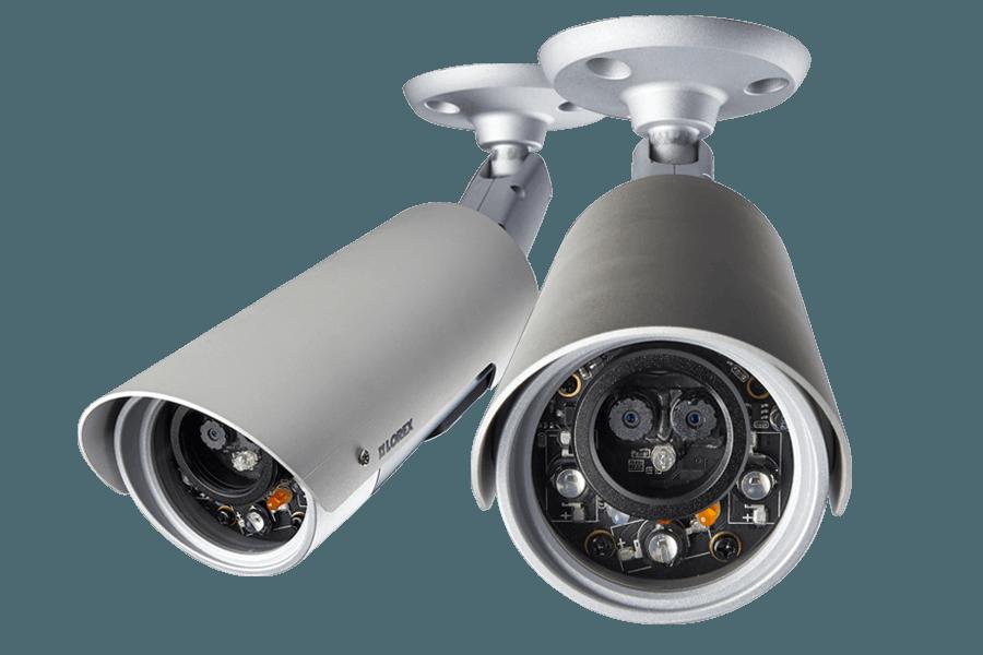 HD Wireless outdoor IP cameras - 2 pack | Lorex