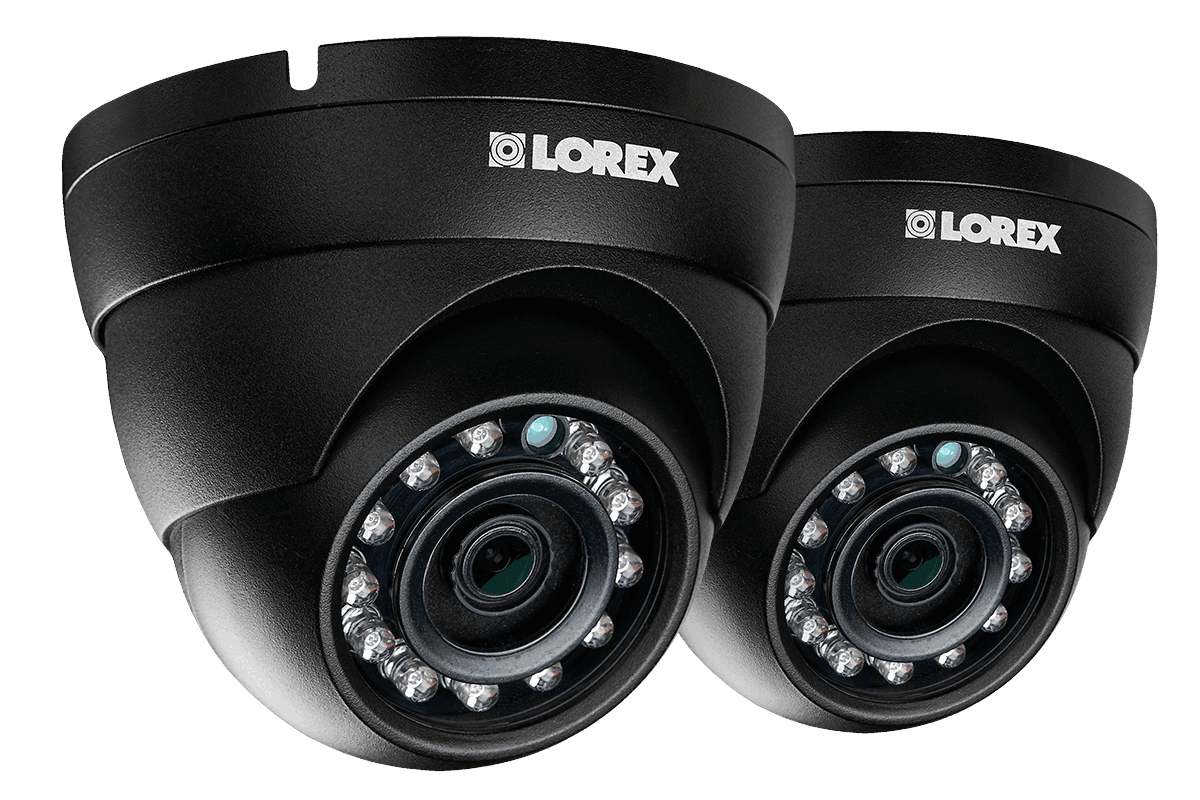 4MP HD IP Dome Security Camera with Color Night Vision (2-pack) | Lorex