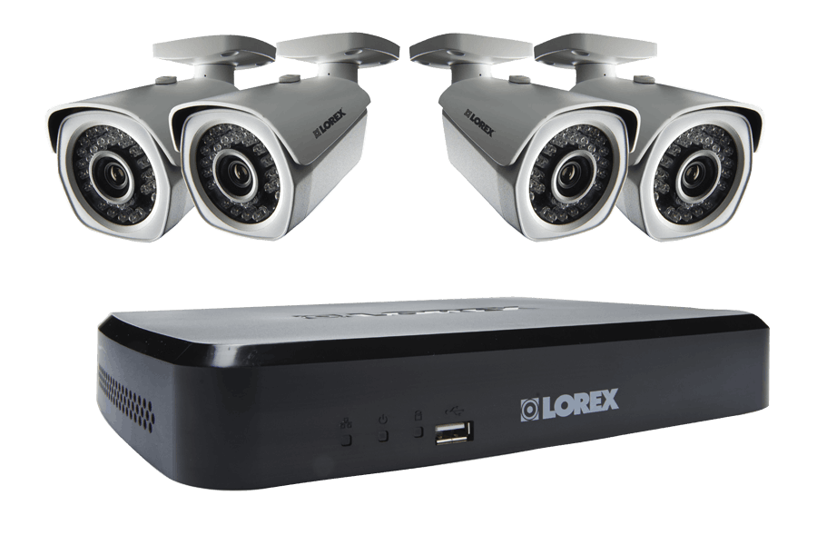 LNR100 Series 8-Channel Security NVR with Weatherproof HD IP