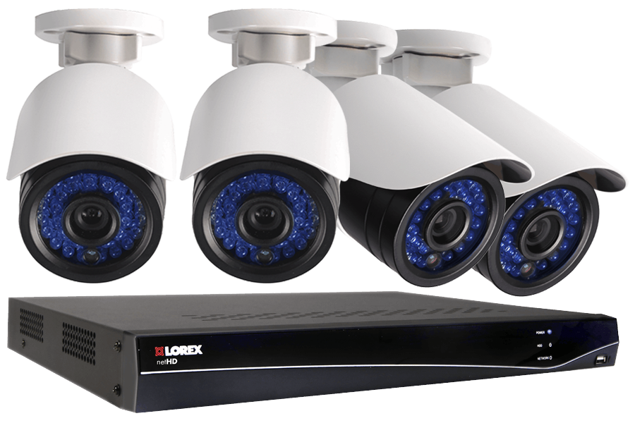LNR300 Series 8-Channel Security NVR with HD IP Cameras | Lorex