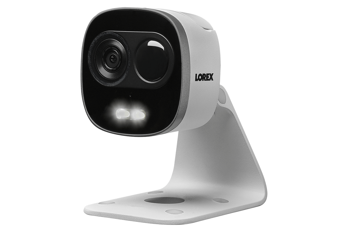 WiFi HD Outdoor Camera with Motion Activated Bright White