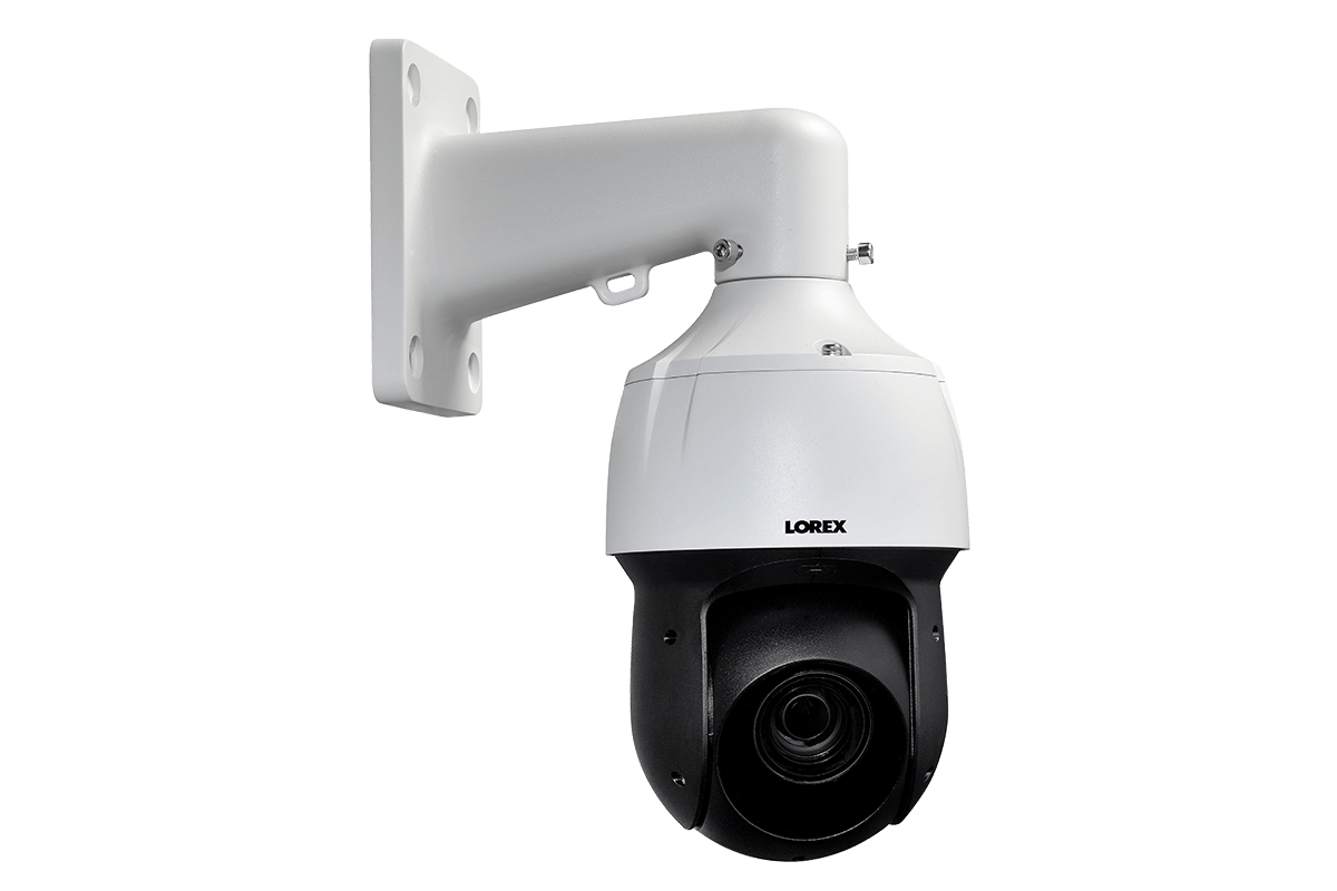 2k Hd Outdoor Ptz Ip Camera With 12 Optical Zoom 330ft Ir Night Vision Color Night Vision Metal Camera Lorex