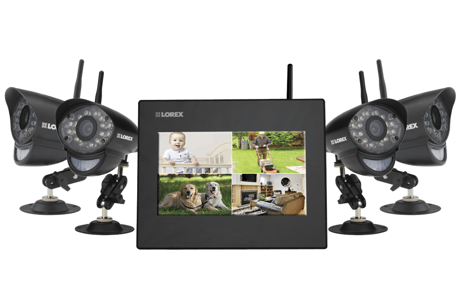 Where can you buy components for a Lorex home security system?