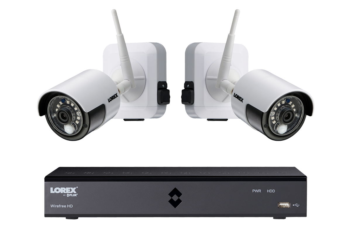 1080p Wireless System with 2 Rechargeable Wire Free Battery Powered ...