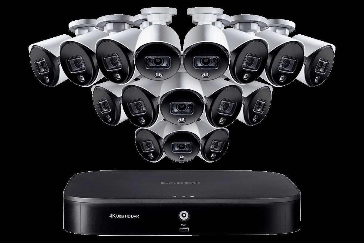 Genuine Q-See CCTV Surveillance HD Camera UL Cable 60/' x 3 pcs