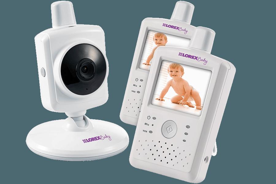 Baby monitor with 2 handheld monitors