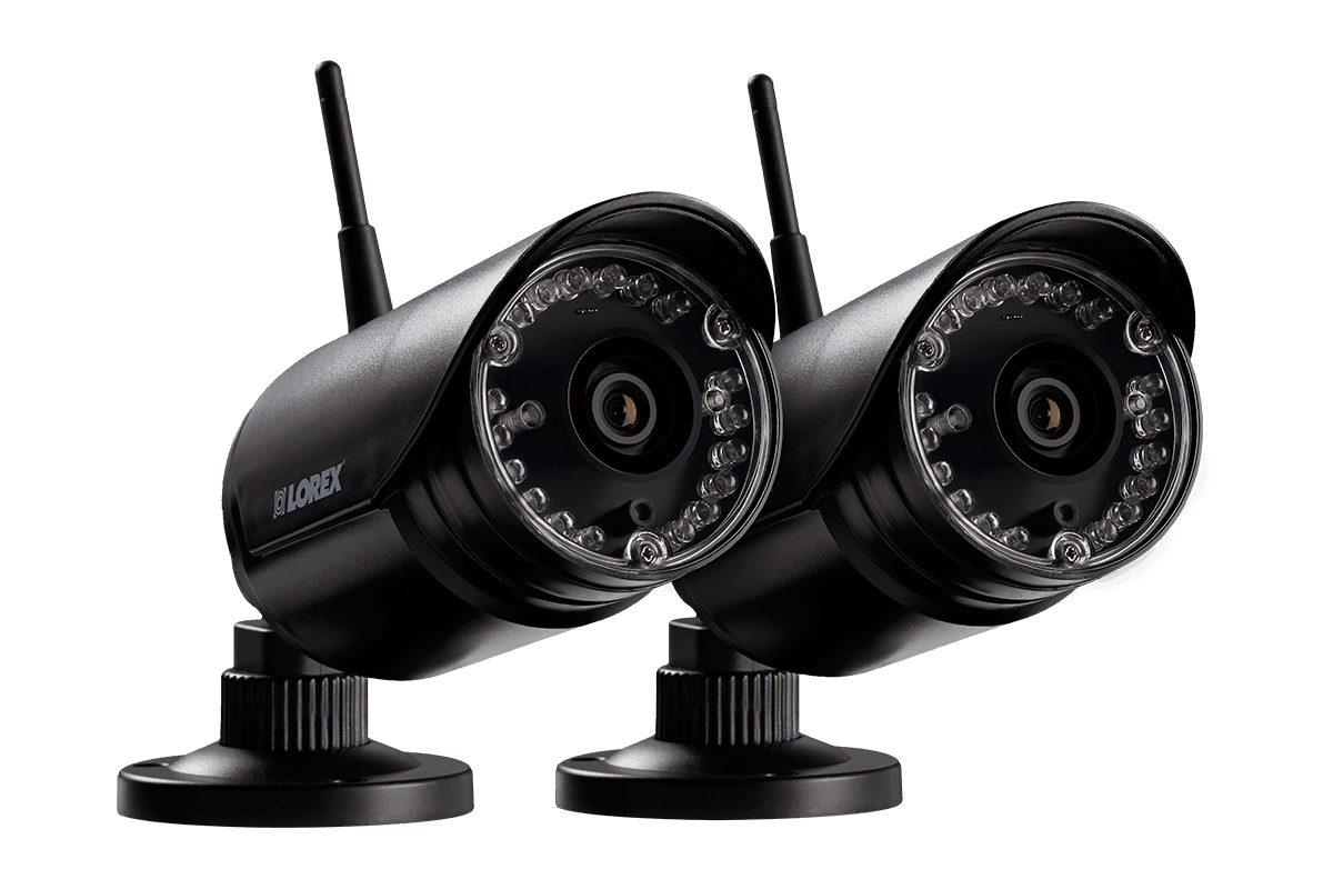 HD 720p Outdoor Wireless Security Cameras, 135ft Night Vision (2 ...