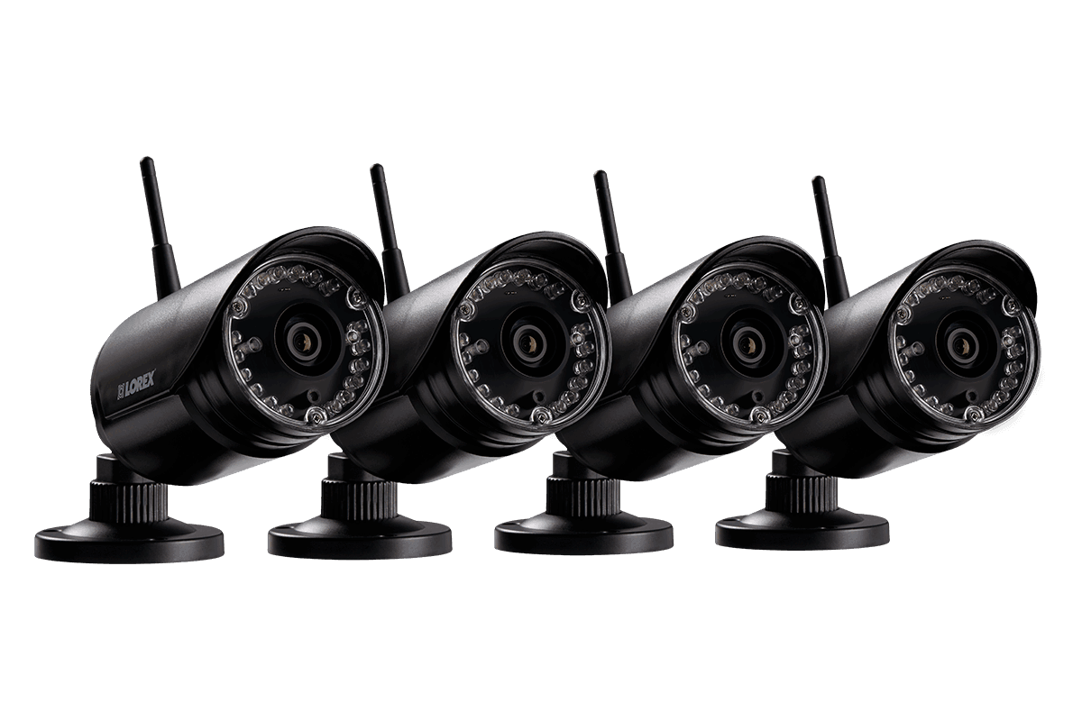 HD 720p Outdoor Wireless Security Cameras, 135ft Night Vision (4 ...
