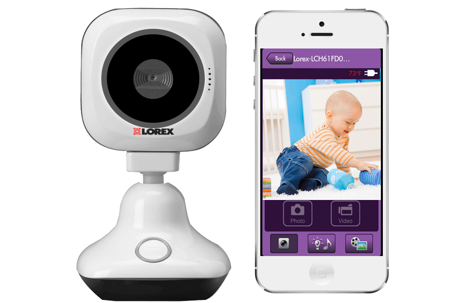 HD WiFi security camera with remote viewing | Lorex