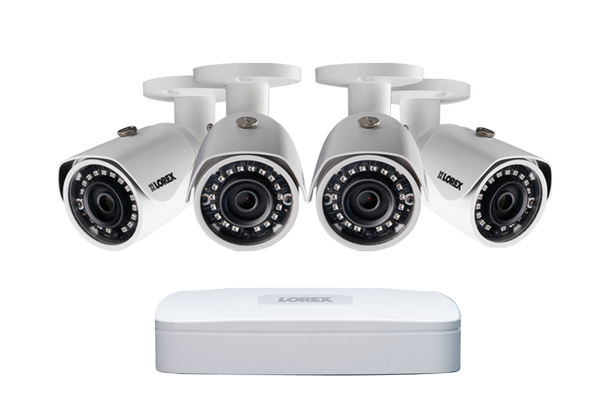 2k Ip Security Camera System With 4 Channel Nvr And X 4mp Hd Thunderbolt Iv Wiring Diagram Outdoor