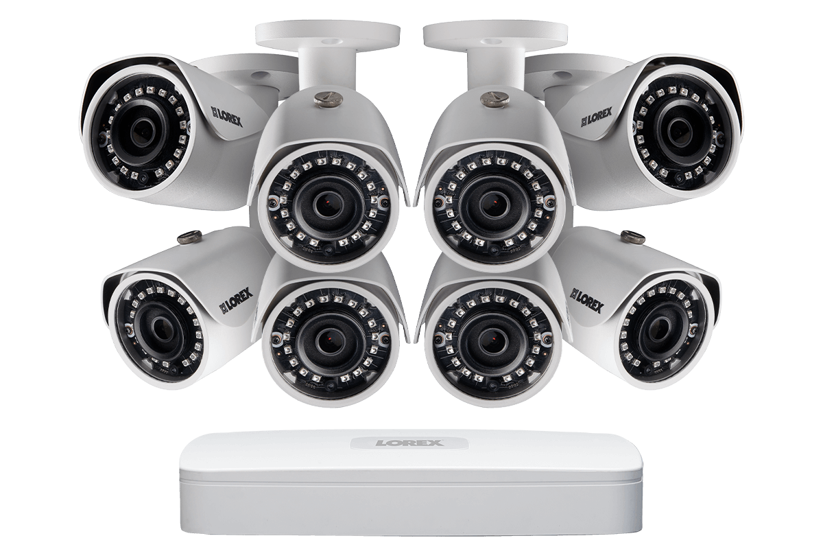 2be9b0378f127 2K IP Security Camera System with 8 Channel NVR and 8 HD Outdoor 4MP 2K  Cameras