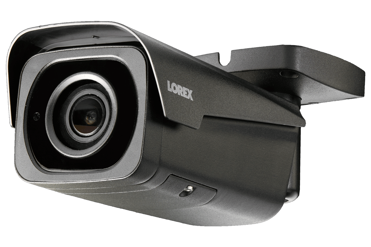 4K Ultra HD Resolution 8MP Motorized Varifocal Outdoor 4x Optical Zoom IP  Camera, 250ft Night Vision