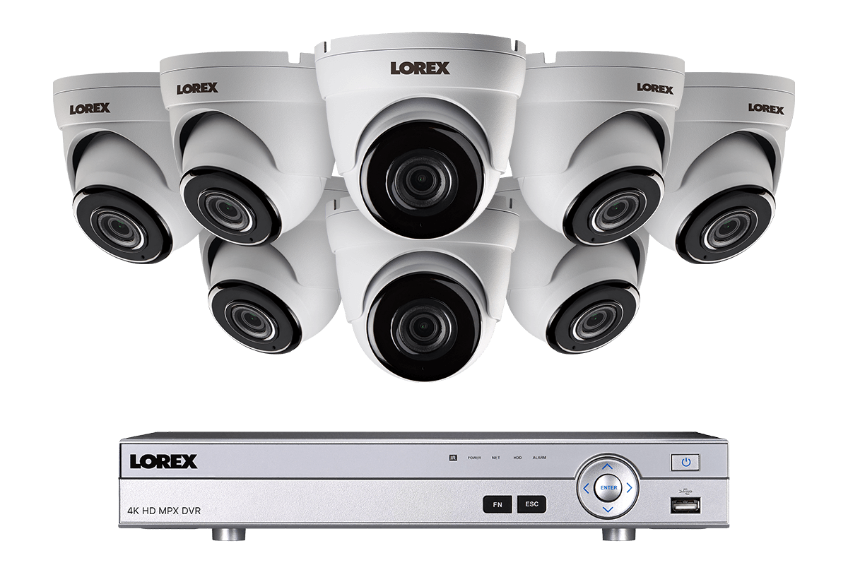 8 Channel Security Camera System With HD 1080p Cameras