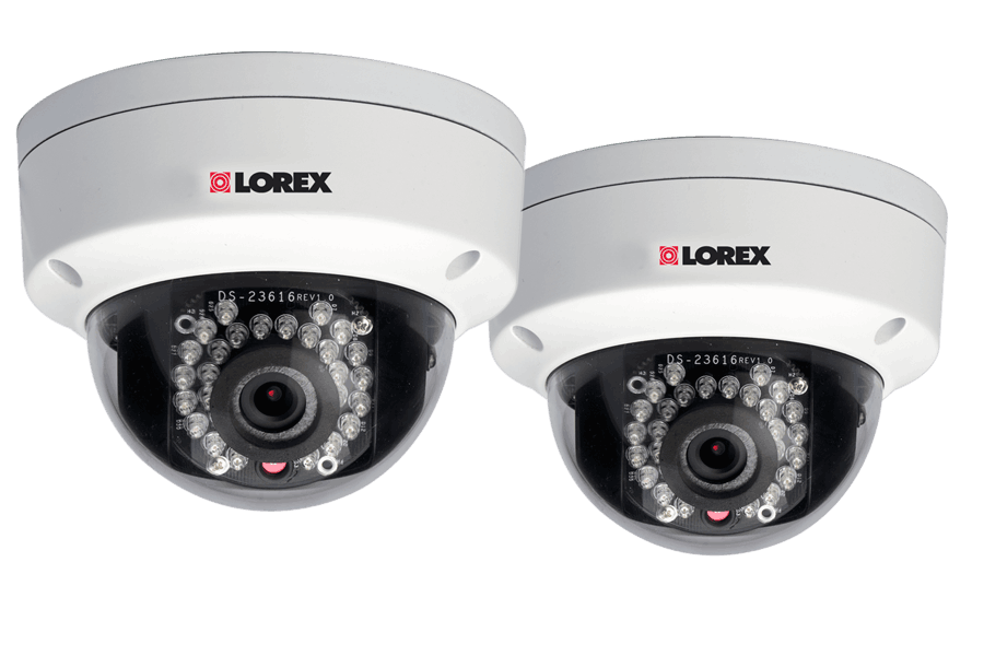 Dome IP cameras for netHD NVR (2-pack) | Lorex by FLIR