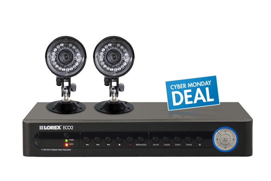 Lorex Wired Security Cameras   Wired Security Camera System Lorex
