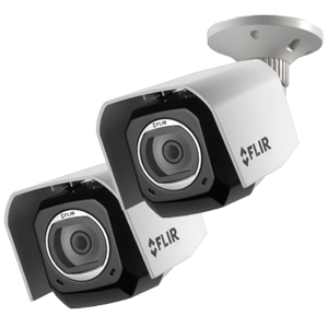 2 Pack of Outdoor WiFi cameras