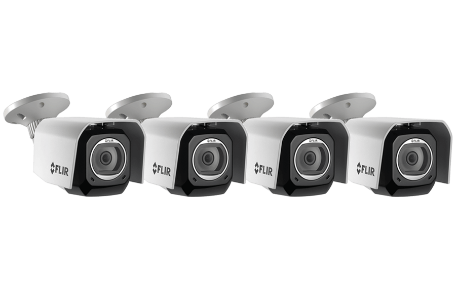 Outdoor WiFi Camera with Cloud Recording (4-pack) | FLIR FX