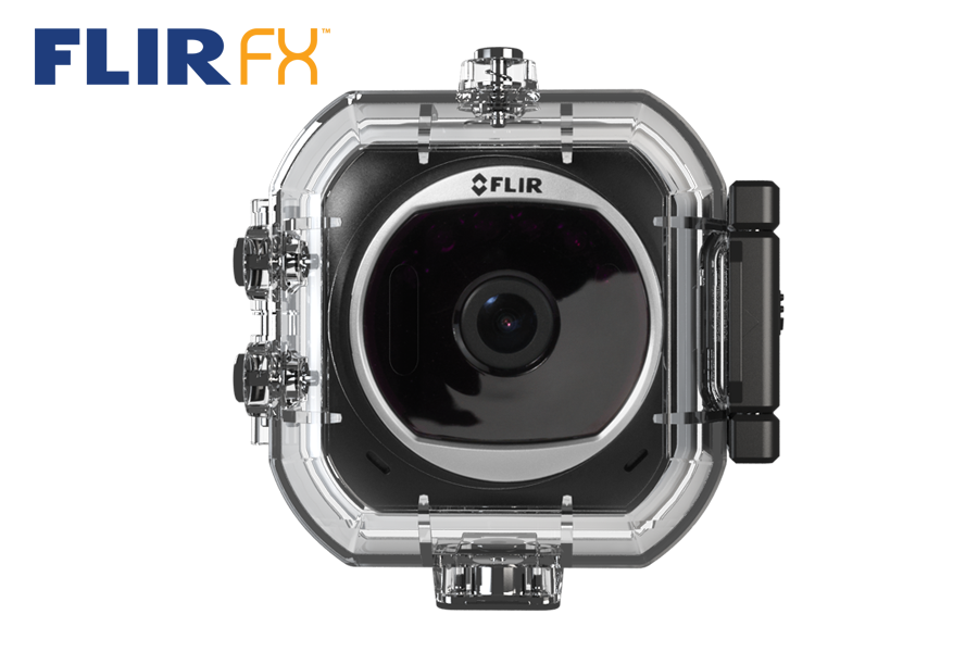 HD Sports Camera with Waterproof Case