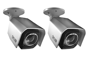Outdoor WiFi Camera with Cloud Recording (2-pack)