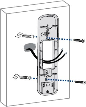 Installing the mounting bracket