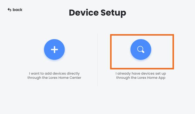 Add device app setup method